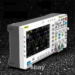 Oscilloscope De Stockage Numérique À Double Canal 100mhz 1gsa/s Générateur De Signal 7lcd