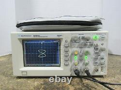 Oscilloscope De Stockage Numérique Dso3102a 100mhz 1gsa/s Avec Module N2865a