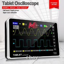 Oscilloscope De Stockage Numérique Fnirsi Affichage Fft 1013d 7inch 2ch 100mhz Bande Passante