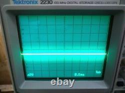 Oscilloscope De Stockage Numérique Tektronix 2230 100mhz