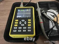 Oscilloscope Numérique 2.4 Écran 500 Msa/s 100mhz Analog Bandwidth Waveform Store