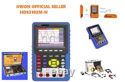 Owon De Stockage Numérique Portatif Hds3102m-n 2ch 1gs/s 100mhz + Valise