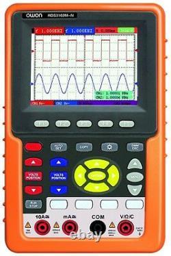 Owon Hds3102m-n Portable Digital Storage Oscilloscope & Multimeter, 100mhz, 2ch