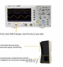 Owon Sds1022 20mhz 100ms / S Économique Éducation De Stockage Numérique Oscilloscope