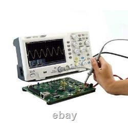 Owon Sds1102 Oscilloscope Oscillometer Stockage Numérique 2ch 100mhz 7 Affichage LCD