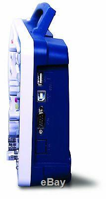 Owon Sds6062-v 60 Mhz 2 Ch 8 LCD Mémoire De Stockage Numérique Oscilloscope + Svga + Sac
