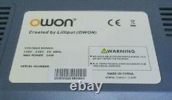 Owon Smart Ds 5032e Digital Storage Oscilloscope Livraison Gratuite Au Royaume-uni
