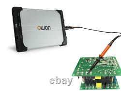 Owon Vds1022i Usb Isolé Pc Digital Storage Oscilloscope 25mhz 2 + 1 Ch 100ms / S