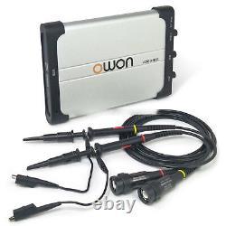 Owon Vds3102l 100mhz Lan Port Usb Pc Portable De Stockage Numérique Oscilloscope 2 + 1ch