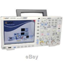 Owon Xds3102a Digital Storage Oscilloscope Écran Tactile Gratuit 12 Bits Adc Guerre De 3ans