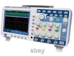 Peaktech P1295 Dso Oscilloscope 100 Mhz 4 Canal 1 Gs/s Stockage Numérique