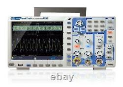 Peaktech P1355 Stockage Numérique Oscilloscope 60mhz 2 Canal 1 Gs/s Dso