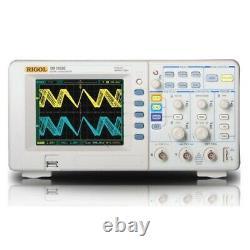 Rigol Ds1052e Oscilloscope Numérique 2 Canaux Analogiques De 50 Mhz Bande Passante 1gsa / S Sam