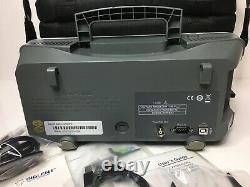 Sds Siglent 1102ml Oscilloscope De Stockage Numérique 100mhz 1gsa/s