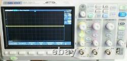 Siglent Sds 1202x-e Stockage Numérique Super Phosphor Oscilloscope 200 Mhz 1 Gsa/s