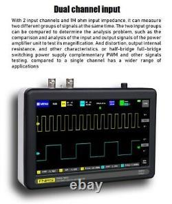 Tablette Numérique Oscilloscope 1 Go Écran Tactile De Stockage Multimètre 100mhz Bande Passante