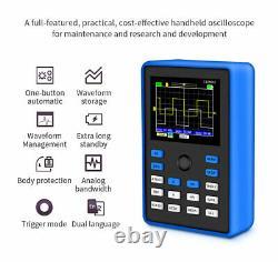 Taux Professionnel Oscilloscope Numérique D'échantillonnage 110mhz Support De Stockage Waveform