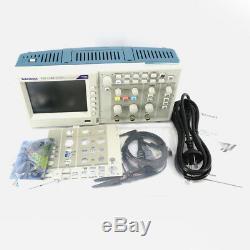 Tbs1102 Tektronix Digital Storage Oscilloscope 100mhz 2 Canaux 1.0gs / S
