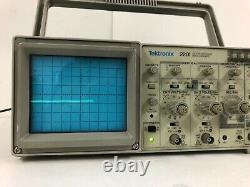 Tektronix 2201 Digital Storage Oscilloscope Livraison Gratuite
