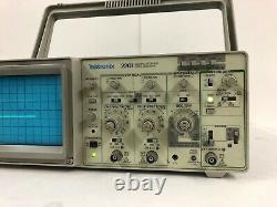 Tektronix 2201 Stockage Numérique Oscilloscope Livraison Gratuite