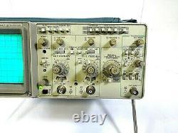 Tektronix 2220 60mhz Bande Passante Numérique Stockage Oscilloscope -livraison Gratuite