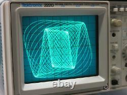 Tektronix 2220 Oscilloscope De Stockage Numérique Oszilloskop Digitalspeicher