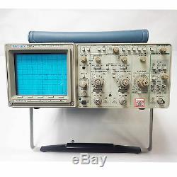 Tektronix 2221a 100 Mhz Oscilloscope À Mémoire Numérique Teste