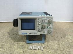 Tektronix 222 Digital Storage Oscilloscope 2 Voies Avec Des Sondes Et De Travail Testés