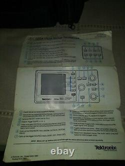 Tektronix 222 Mini Digital Storage Oscilloscope (vintage)
