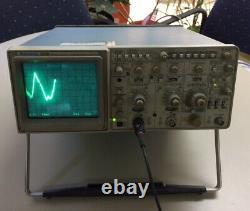 Tektronix 2230 100 Mhz Digital Storage Oscilloscope Item Est Utilisé