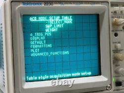 Tektronix 2230 100mhz Stockage Numérique Oscilloscope Oszilloskop Digitalspeicher