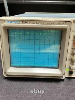 Tektronix 2230 Digital Storage Oscilloscope