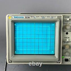 Tektronix 2230 Oscilloscope De Stockage Numérique 100 Mhz Lire Ci-dessous