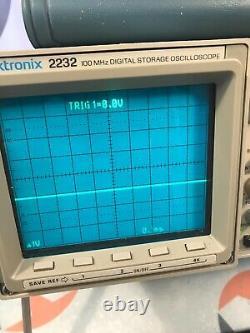 Tektronix 2232 100mhz Oscilloscope De Stockage Numérique