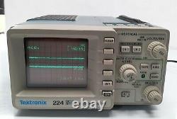 Tektronix 224 Oscilloscope De Stockage Numérique Avec Étui De Transport Et Sondes