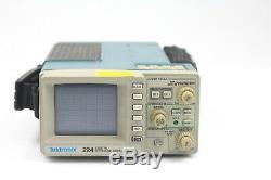 Tektronix 224 Stockage Numérique Portable Oscilloscope Avecdeux Sonde