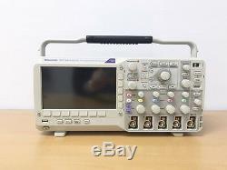 Tektronix Dpo2014 Digital Storage Oscilloscope 100mhz 4ch Avec Des Sondes P6100