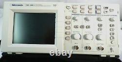Tektronix Tds 1001 Oscilloscope De Stockage Numérique À Deux Canaux Pour Pièces/réparation