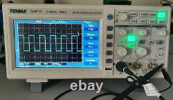 Tenma 72-8710 Oscilloscope De Stockage Numérique, 2 Canaux, 100 Mhz, 1 Ssgp