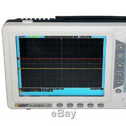 Ultra-mince 30mhz Owon Digital Storage Oscilloscope Sds5032e 250mhz / 8 De Tft Vga