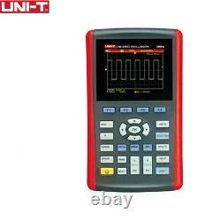 Uni-t Utd1025cl 3.5 Stockage Numérique À Écran LCD 25mhz Mini Oscilloscopes Usb