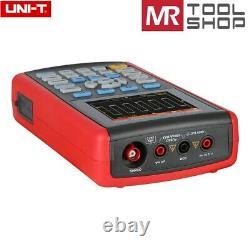 Uni-t Utd1050cl Stockage Numérique Portatif Oscilloscope 50mhz Multimètre Usb LCD