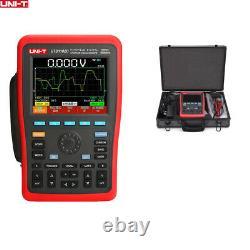 Uni-t Utd1102c Oscilloscopes De Stockage Numérique Portatif Rechargeable 2 Canaux