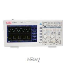 Uni-t Utd2052cl 2ch Digital Storage Oscilloscope 50mhz 7 LCD / 500msa Les Langues