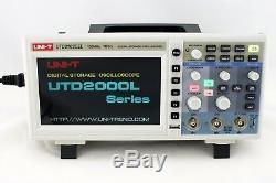 Uni-t Utd2102cex 100mhz Digital Storage Oscilloscope 1g Sa / Usb De Nombreuses Langues