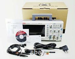 Uni-t Utd2102cex-ii Stockage Numérique Oscilloscope 2ch 100mhz Bande Passante 8 Pouces