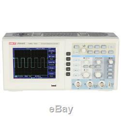 Uni-t Utd2152ce 150mhz 1gs / Digital Storage Oscilloscope 2 Canaux Tft LCD Uk Stock