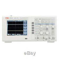 Uni-t Utd2202ce 200mhz 1gs / Digital Storage Oscilloscope 2-ch 5.7''lcd Uk Stock