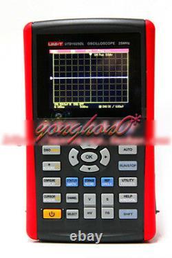 Utd1025dl Oscilloscopes De Stockage Numérique Portatif 25mhz 2 Canaux 250ms/s Uni-t