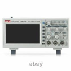 Utd2102cex Uni-t 7 2 Channel Bench Digital Storage Oscilloscope 100mhz 1gsa/s L